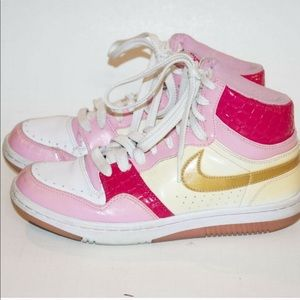 Vintage Nike Court Force High Tops